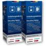 Lot de 2 boîtes contenants 6 pastilles détartrantes Bosch pour machine à café et bouilloire