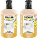 Lot de 2 nettoyant plastique 3 en 1 détergent pour nettoyeurs haute pression Kärcher