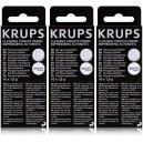 Lot de 3 boîtes de pastilles détergentes Krups