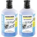 Shampoing de voiture 3 en 1 pour nettoyeur haute pression Kärcher - Flacon de 1L.