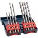 Coffret de 8 forets béton SDS Plus-3 (Diamètre : D 5-6-8-10mm) BOSCH