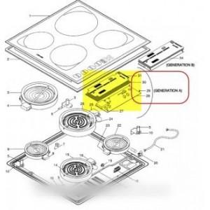 carte logique (generation a) pour table de cuisson SCHOLTES