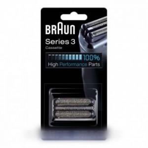 cassette de rasage 32s series3, argent pour petit electromenager BRAUN
