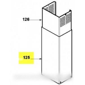 cheminee inox inferieure pour hotte fagor brandt vedette sauter de dietrich 74x6926. Black Bedroom Furniture Sets. Home Design Ideas