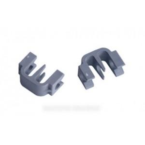 clips panier inferieur (x2) pour lave vaisselle BOSCH B/S/H