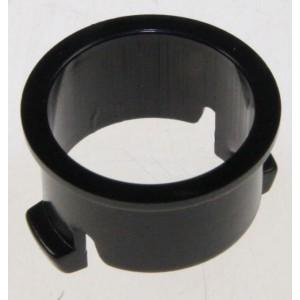collerette bouton poussoir noir pour lave vaisselle INDESIT