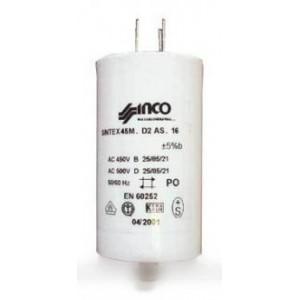 Condensateur 9µf 450 v pour démarrage moteur