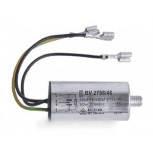 condensateur antiparasite 2x0,027ufx1y pour lave linge SIEMENS