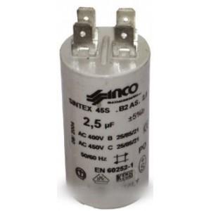 condensateur fixation écrou 2,5µf-450v pour hotte DIVERS MARQUES