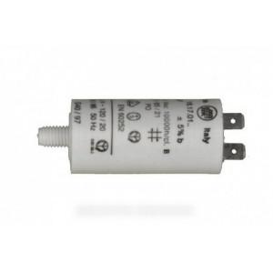 CONDENSATEUR PERMANENT 5 µF 450V POUR LAVE-LINGE CONSTRUCTEURS DIVERS