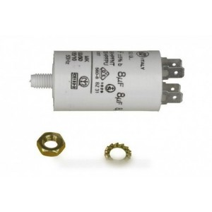 condensateur permanent 9 µf 450 v pour lave linge CONSTRUCTEURS DIVERS