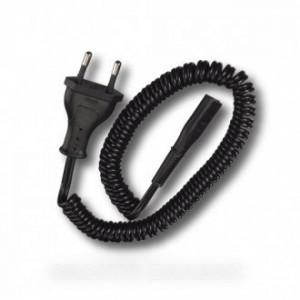 cordon secteur braun 220 v noir pour petit electromenager BRAUN