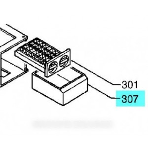 BAC DE RECUPERATION GLACONS TIROIR 0° POUR REFRIGERATEUR KUPPERSBUSCH