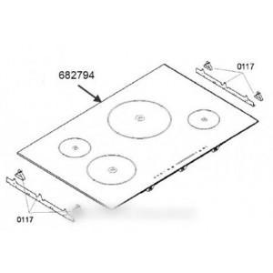 dessus table vitro-ceram pour table de cuisson SIEMENS