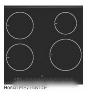 dessus verre vitro-ceram pour table de cuisson BOSCH B/S/H