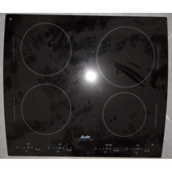 Dessus verre vitro ceram pour table de cuisson sauter Table de cuisson vitro