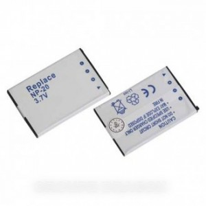 accumulateur li-ion 630 mah 3.7 v  pour appareil photo casio