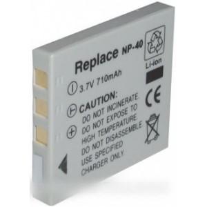 accumulateur li-ion 710 mah 3.6 v pour appareil photo fuji