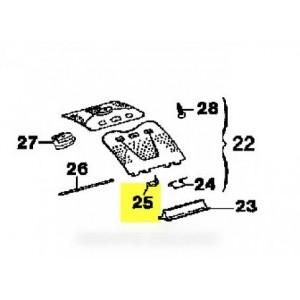 dispositif de freinage porte tambour pour lave linge ARTHUR MARTIN ELECTROLUX FAURE