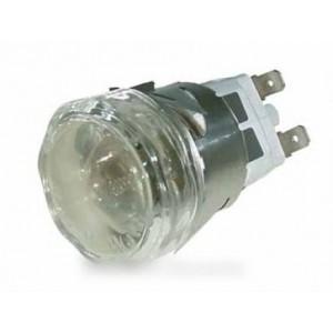 DOUILLE + HUBLOT DE LAMPE DIAM 35MM - L67MM pour four ROSIERES