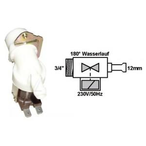 ELECTROVANNE 1 VOIE 180° DIA 15 POUR LAVE LINGE CONSTRUCTEURS DIVERS
