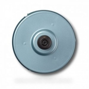 embase bleu argent pour petit electromenager BRAUN