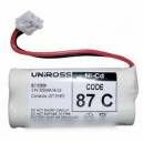 accumulateur type 2 x aaa 2.4 v 300 mah