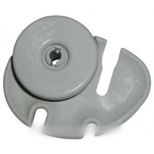 KIT ROULETTE PANIER GRISE / DROITE  pour lave vaisselle ARTHUR MARTIN ELECTROLUX FAURE