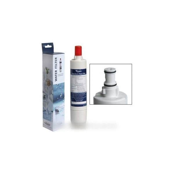 cartouche pour filtre eau d 39 origine pour r frig rateur whirlpool r f 5760220 froid. Black Bedroom Furniture Sets. Home Design Ideas