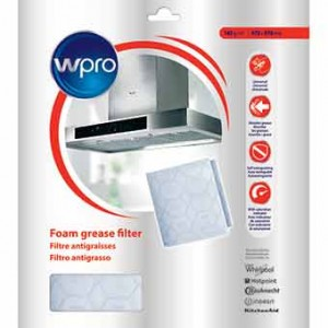 filtre a saturation ignifuge pour hotte WHIRLPOOL