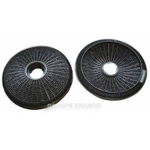 filtre charbon actif type ca200r pour hotte ARTHUR MARTIN ELECTROLUX FAURE