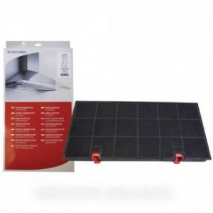 filtre charbon type 150 (435x216x28mm) pour hotte ARTHUR MARTIN ELECTROLUX FAURE