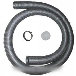 FLEXIBLE NU+BAGUES GRIS D35,5MM pour aspirateur MOULINEX