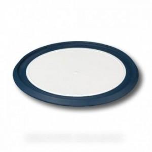 fond hachoir blanc/bleu fonce dia 13.5 pour petit electromenager BRAUN
