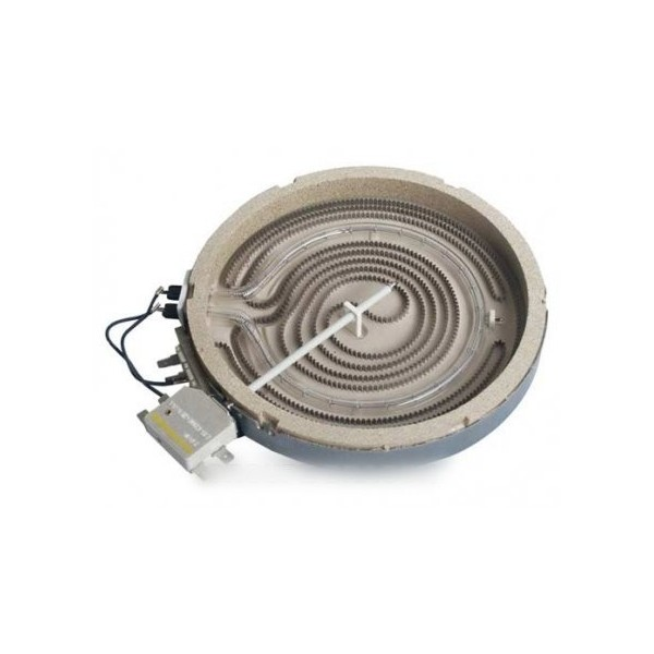 Foyer halogene 1800 w pour table de cuisson fagor r f 4607780 cuisson table de cuisson - Plaque de cuisson halogene ...