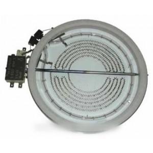 foyer halogene 1800 w diametre 180 pour table de cuisson DE DIETRICH