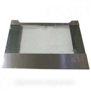 hublot exterieure acier 59,5cm x 46,5cm pour four ELECTROLUX