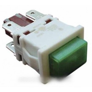 interrupteur voyant vert pour lave linge WHIRLPOOL