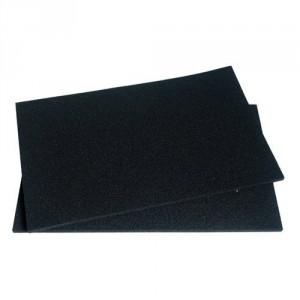 filtres charbon x2 dhk305ap1 215x150mm pour hotte brandt. Black Bedroom Furniture Sets. Home Design Ideas