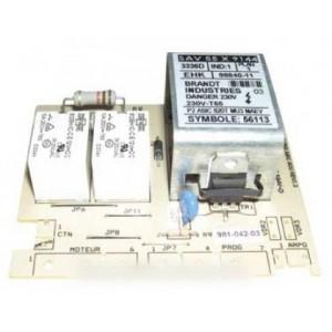 module de puissance 3336d-08840-11 pour lave linge BRANDT