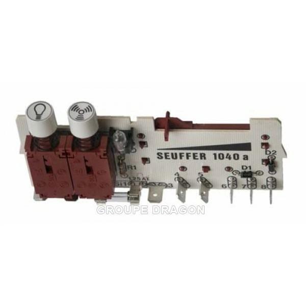 Module variateur de vitesse pour hotte thermor r f 3720547 cuisson hotte module for Comhotte aspirante sauter