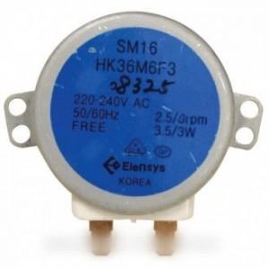 moteur de plateau 230 volt 25 watt  pour micro ondes DAEWOO