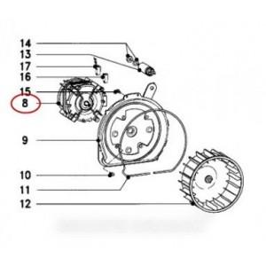 moteur ventilateur mle00-62/2 pour sèche linge MIELE