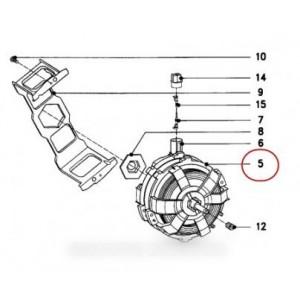 moteur ventilateur sans turbine mexoo-62 pour sèche linge MIELE