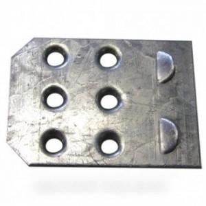 Patin charniere inferieure 30x40 pour réfrigérateur INDESIT