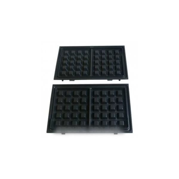 plaque x2 pour gaufrier tefal r f 8726518 petit. Black Bedroom Furniture Sets. Home Design Ideas