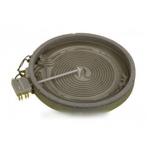 plaque halogene diam 180 1800 w 230 v pour table de cuisson GAGGENAU