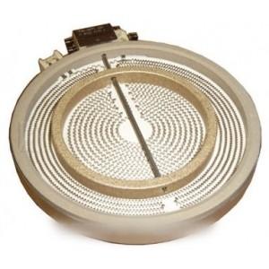plaque halogène ø210/140mm 2200+1000w pour table de cuisson ELECTROLUX