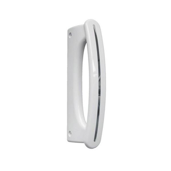 poign e porte blanche pour r frig rateur whirlpool r f v5761670 froid r frig rateur poign e. Black Bedroom Furniture Sets. Home Design Ideas