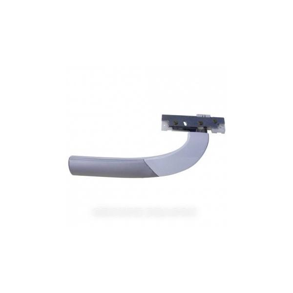 4328000100 poign e grise et blanche pour r frig rateur. Black Bedroom Furniture Sets. Home Design Ideas